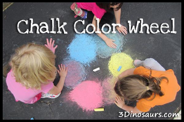 Guest Post: Chalk Color Wheel