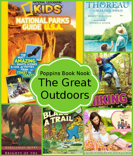 June Poppins Book Nook: The Great Outdoors - 3Dinosaurs.com