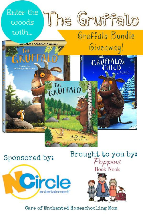 The Gruffalo Bundle Giveaway - 3Dinosaurs.com