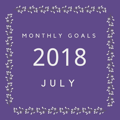 July 2018 Goals - my goals and others - 3Dinosaurs.com