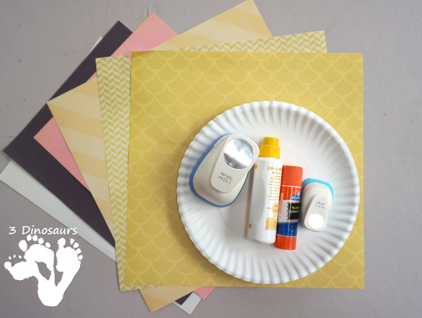 Easy To Make Paper Plate Lion - made with paper plates and torn pape a & Easy To Make: Paper Plate Lion | 3 Dinosaurs