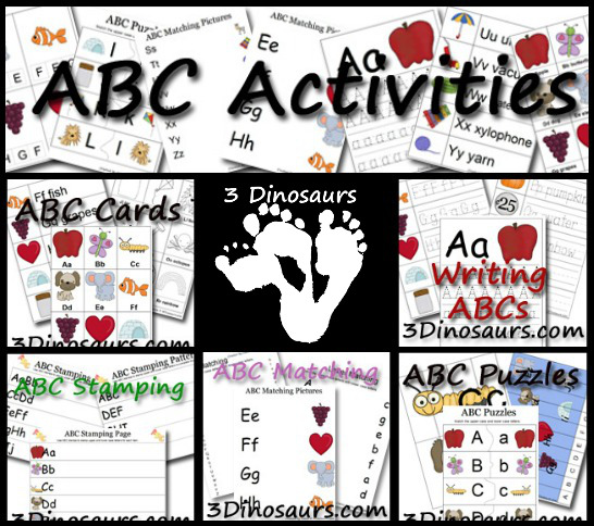New ABC Printables