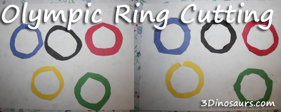 Olympic Ring Cutting