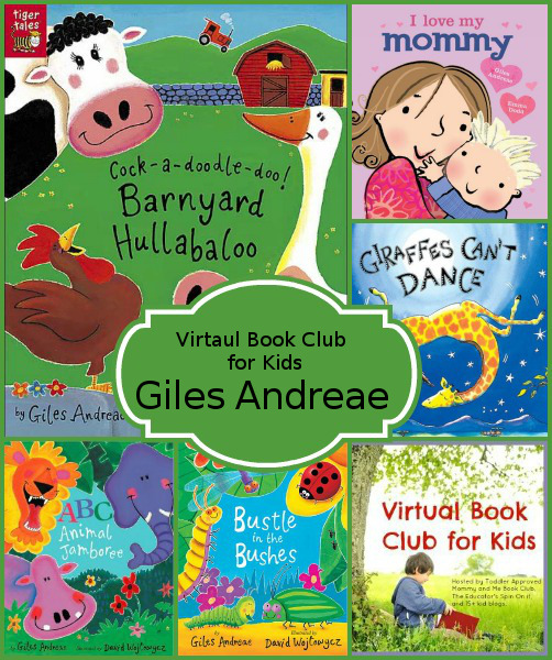 July Virtual Book Club: Giles Andreae - 3Dinosaurs.com