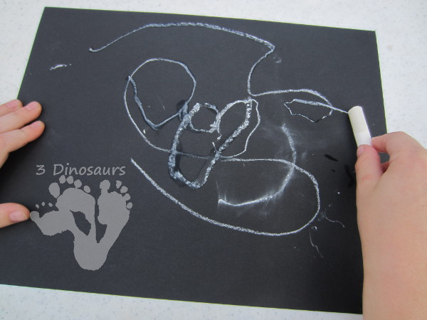 Chalk Pirate Flags - 3Dinosaurs.com