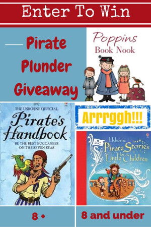 Pirate Book Giveaway - 3Dinosaurs.com