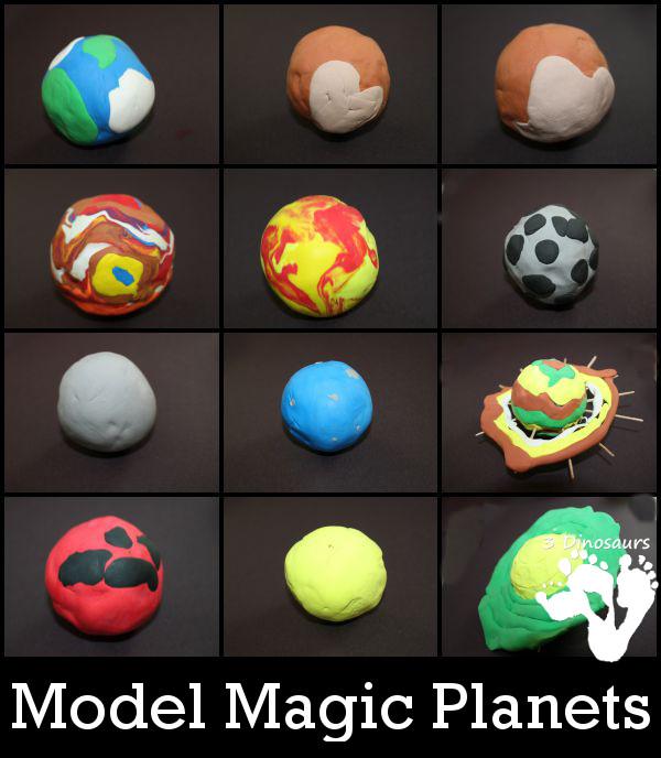 Model Magic Planets - 3Dinosaurs.com