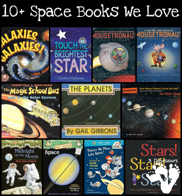 10+ Space Books We Love - 3Dinosaurs.com