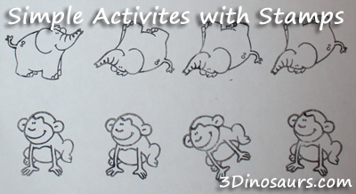 Creating Simple Activites with Stamps