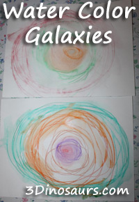Water Color Galaxies