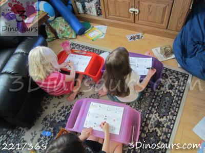 How Do I Teach After School: School Set Up - Lap Trays or desks