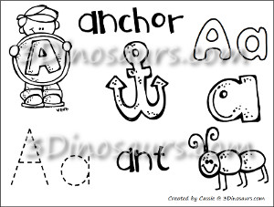 New ABC Coloring Pages
