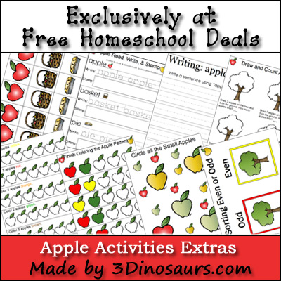 Apple Activities Pack Add On!