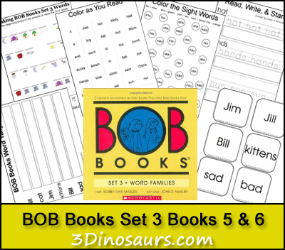 BOB Books Set 3: Books 5 & 6