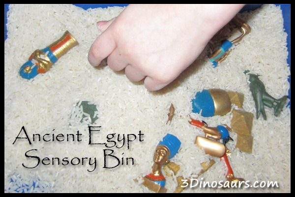 Ancient Egypt Sensory Bin