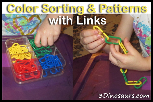 Color Sorting & Patterns with Links