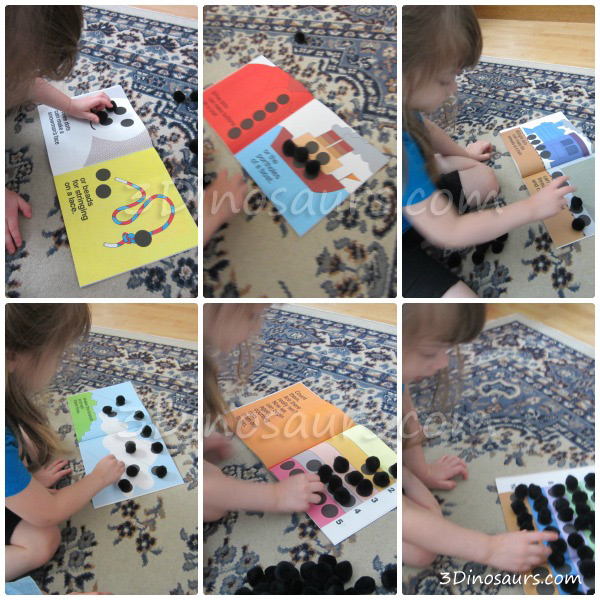 Counting with Ten Black Dots