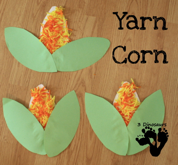 Corn is Maize: Yarn Corn Activity -  3Dinosaurs.com