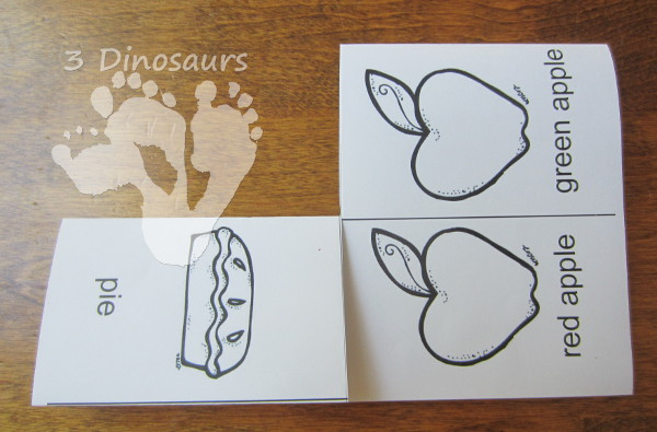 Using Printables: How to Make the Small Book - 3Dinosaurs.com
