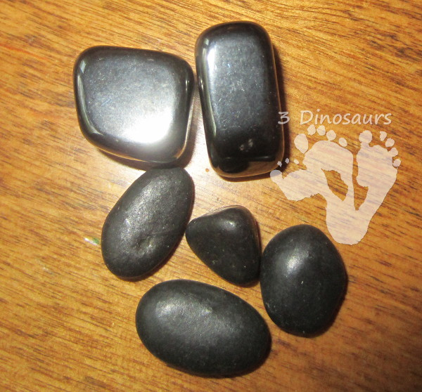 Rock Sensory Bin - 3Dinosaurs.com