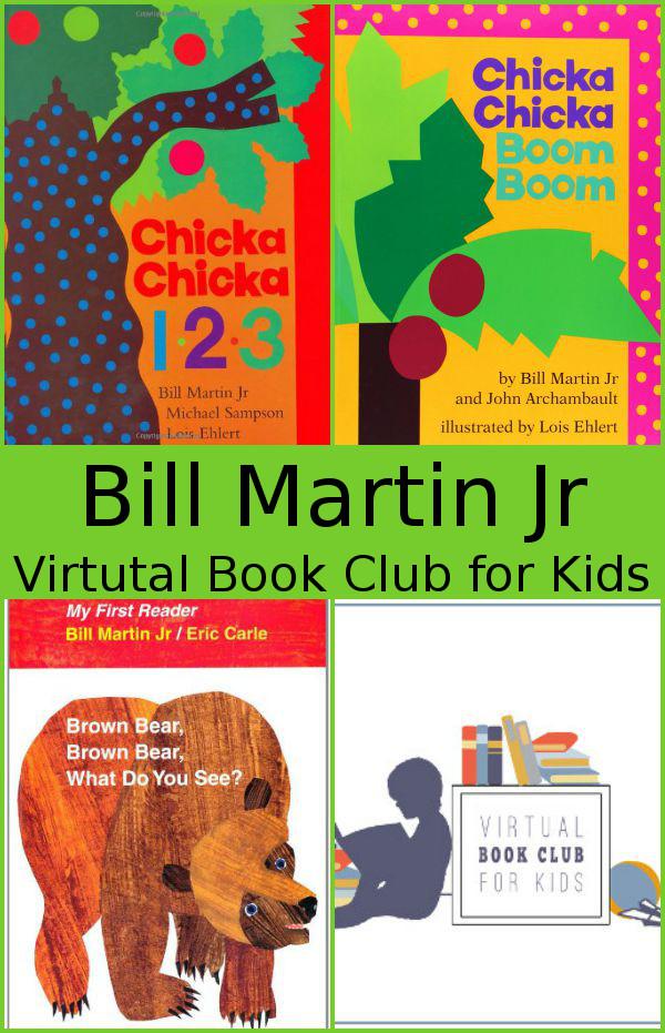 August Virtual Book Club: Bill Martin Jr. - 3Dinosaurs.com