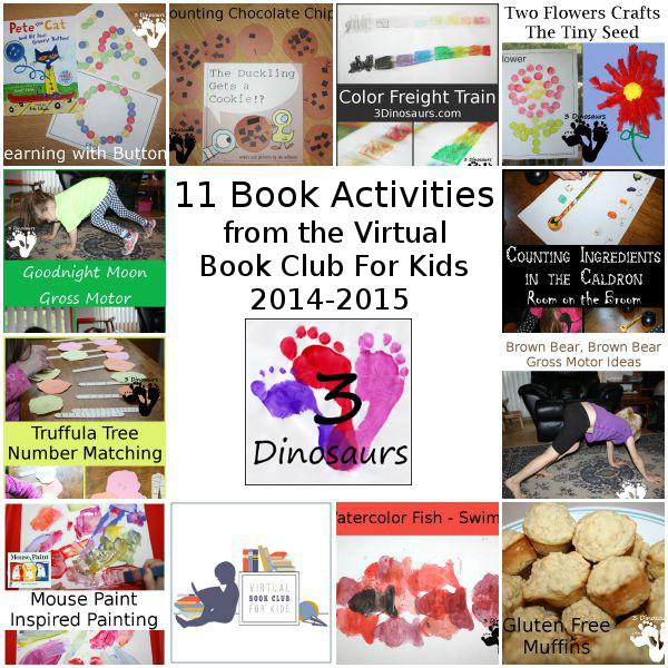 Virtual Book Club Post from 2014-2015 - 3Dinosaurs.com
