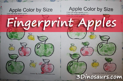 Fingerprints Apples