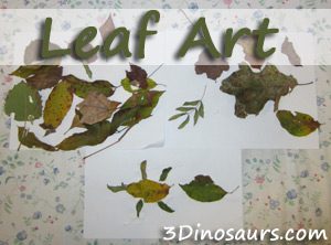 Leaf Art Work