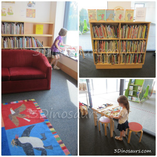 Eric Carle Museum: Library