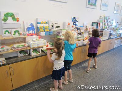 Eric Carle Museum: Book Store
