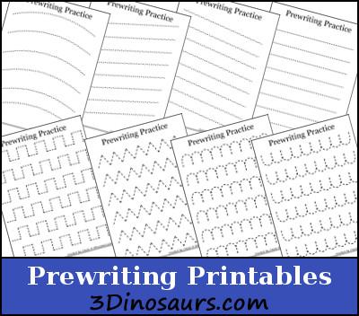 Number Names Worksheets » Handwriting Patterns Worksheets - Free ...