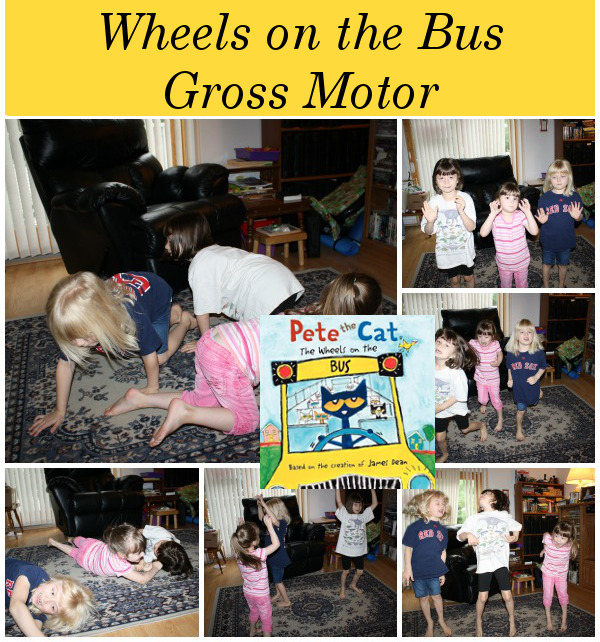 Wheels on the Bus: Gross Motor