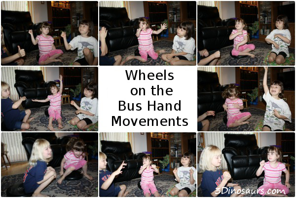 Wheels on the Bus: Hand Movements
