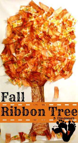 Fall Ribbon Tree - 3Dinosaurs.com