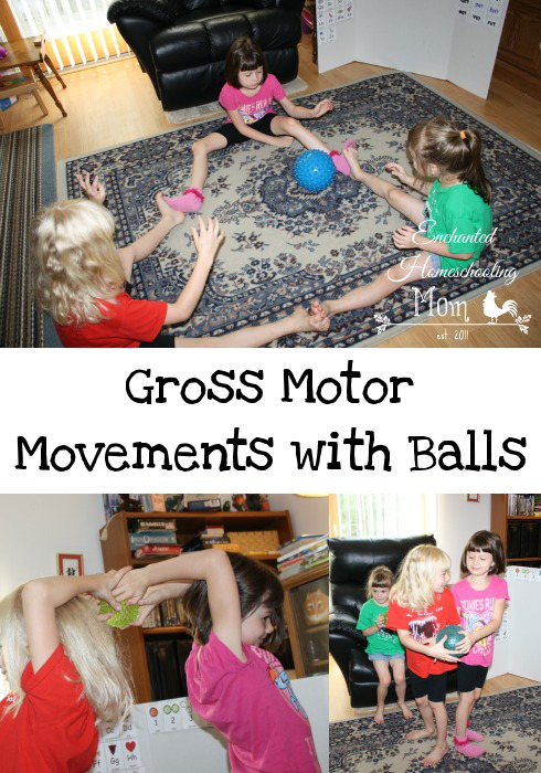 Gross Motor Movements with Balls - Contributor Post - 3Dinosaurs.com