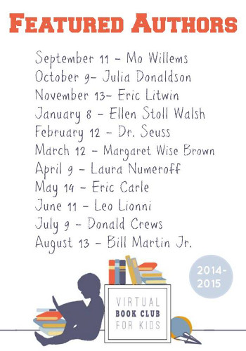 Virtual Book Club: Authors 2014-2015 - 3Dinosaurs.com