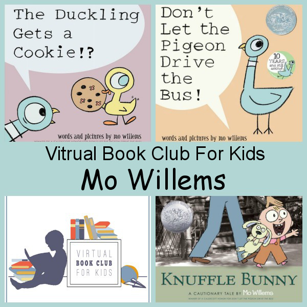 September Virtual Book Club: Mo Willems - 3Dinosaurs.com