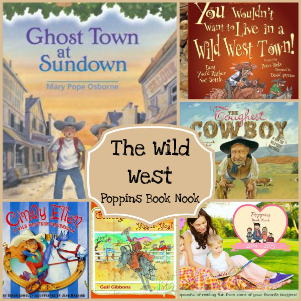 September Poppins Book Nook: The Wild West - 3Dinosaurs.com