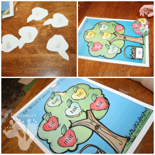 apple themed cvc word family activities wall charts sorting mats and writing activities