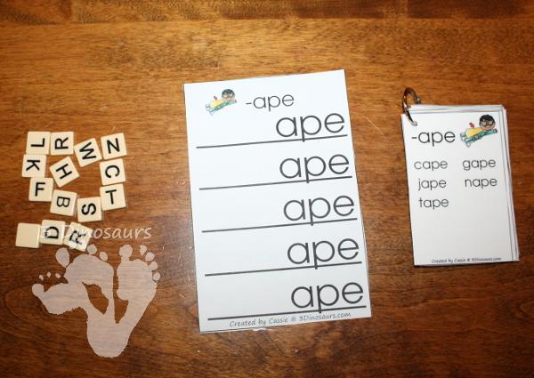 Free CVCe Word Family Ladders: -ace, -age, -ake, -ale, -ame, -ane, -ape, -ase, -ate, -ave, -ice, -ide, -ife, -ike, -ile, -ime, -ine, -ipe, -ise, -ite, -obe, -ode, -oke, -ole, -ome, -one, -ope, -ose, -ote, -ube, -ude, -ule, -une - 3Dinosaurs.com