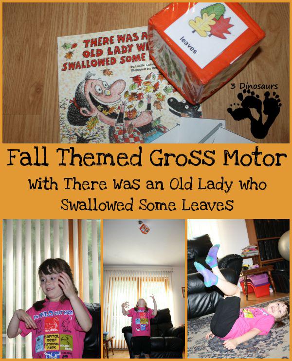 Fall Themed Gross Motor - 3Dinosaurs.com