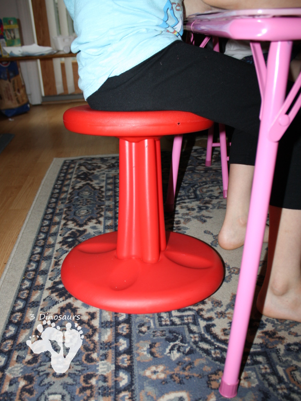 Product Review: Kore Wobble Stool - 3Dinosaurs.com