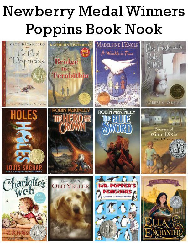 September Poppin Book Nook: Newberry Medal Winners - 3Dinosaurs.com