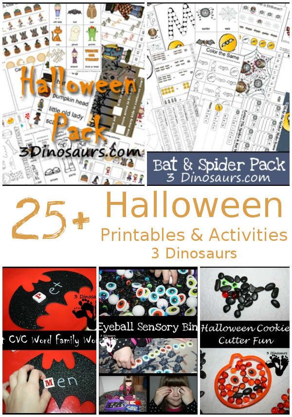 25+ Halloween Activities & Printables