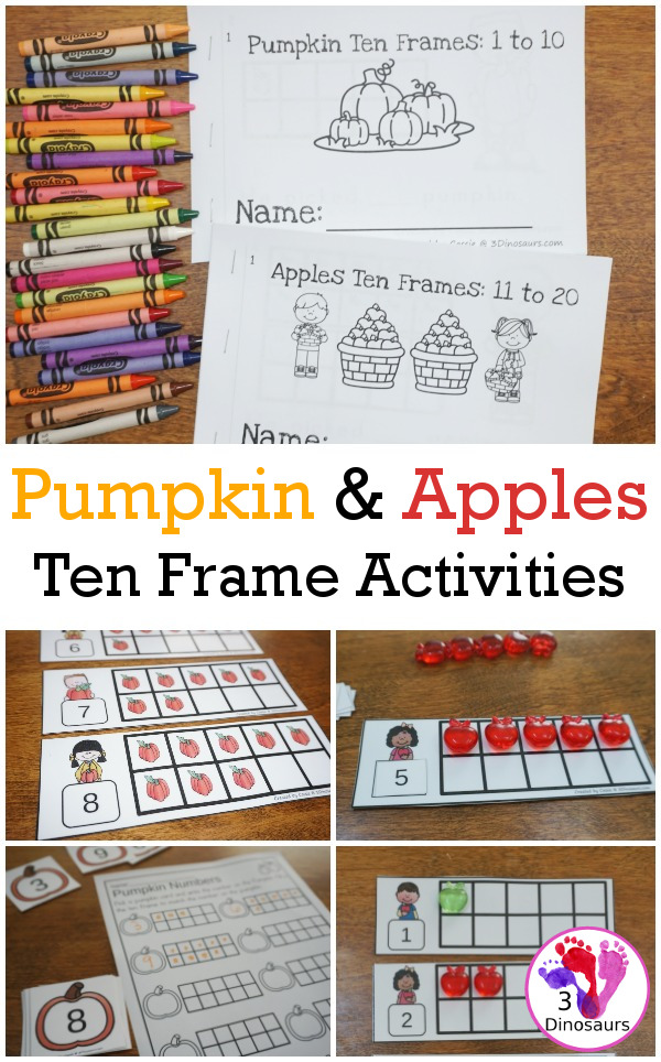 photo relating to Apples to Apples Cards Printable named Apples Pumpkins 10 Body Pursuits: No-Prep Fingers-Upon