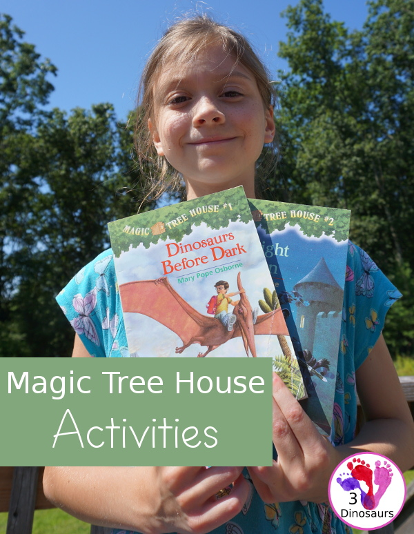 Learning Fun With the Magic Tree House Books & Activities