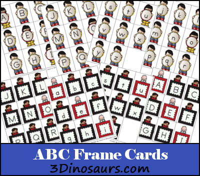 New ABC Frame Cards