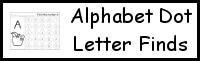 Alphabet Dot Letter Find