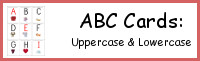 ABC Cards: Uppercase and Lowercase