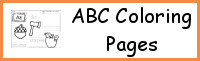 ABC Coloring Pages Sample